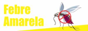 Banner com o mosquito da febre amarela
