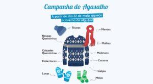 campanha do agasalho em Paracambi