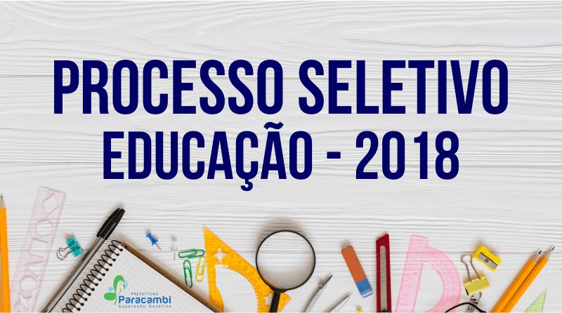 Paracambi abre processo seletivo para professores da rede pública 0a983c896582d