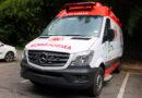 Prefeitura recebe uma nova ambulância para atendimento do SAMU