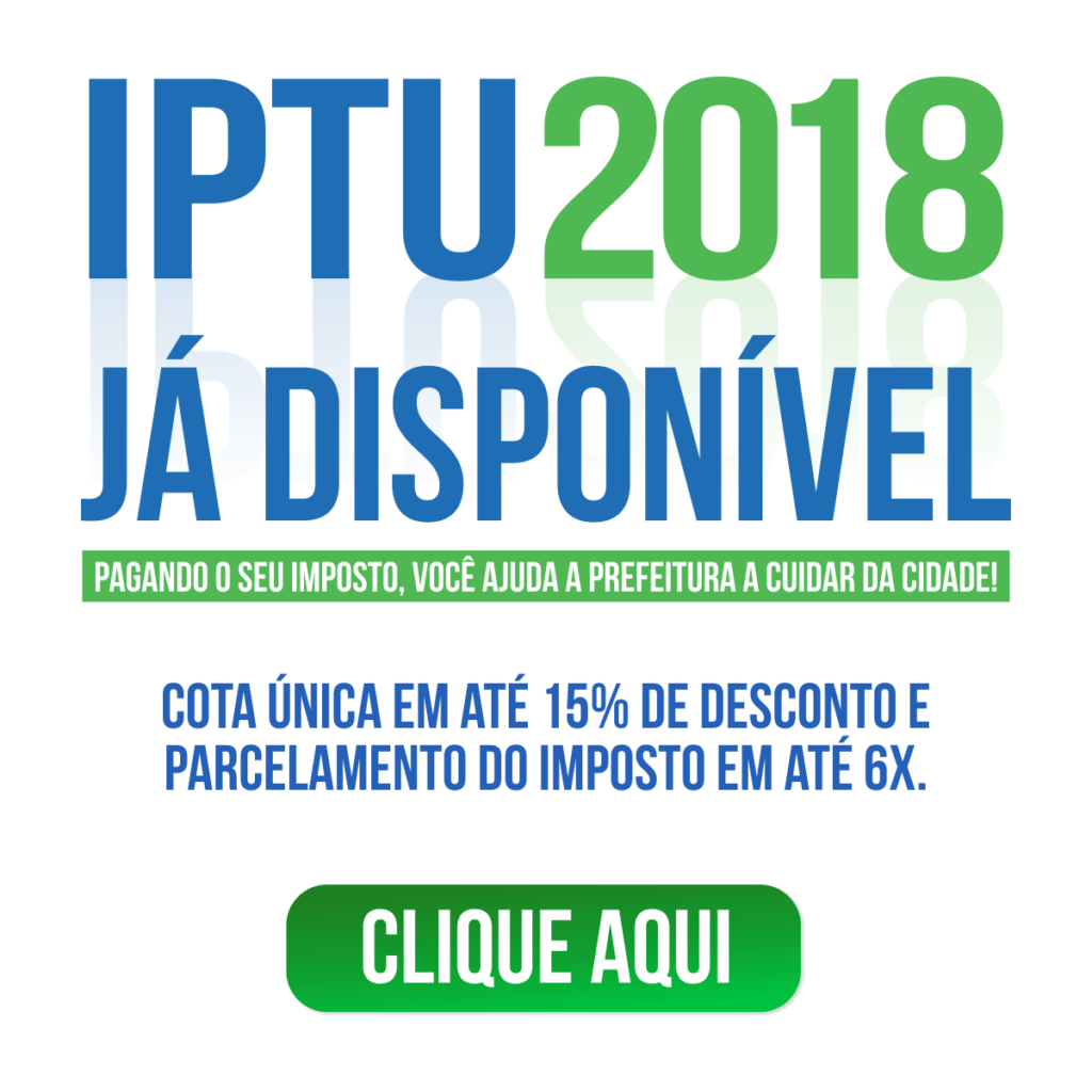 Pop-up IPTU 2018